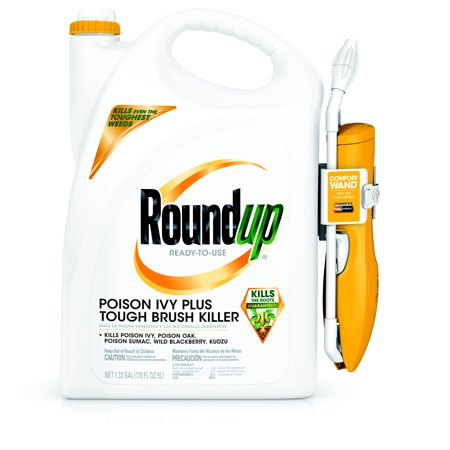Roundup Ready-To-Use Poison Ivy Plus Tough Brush Killer with Comfort Wand (1.33 gal. twist cap)