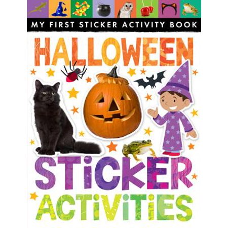 Halloween Sticker Activities (Halloween Music Activity Sheets)