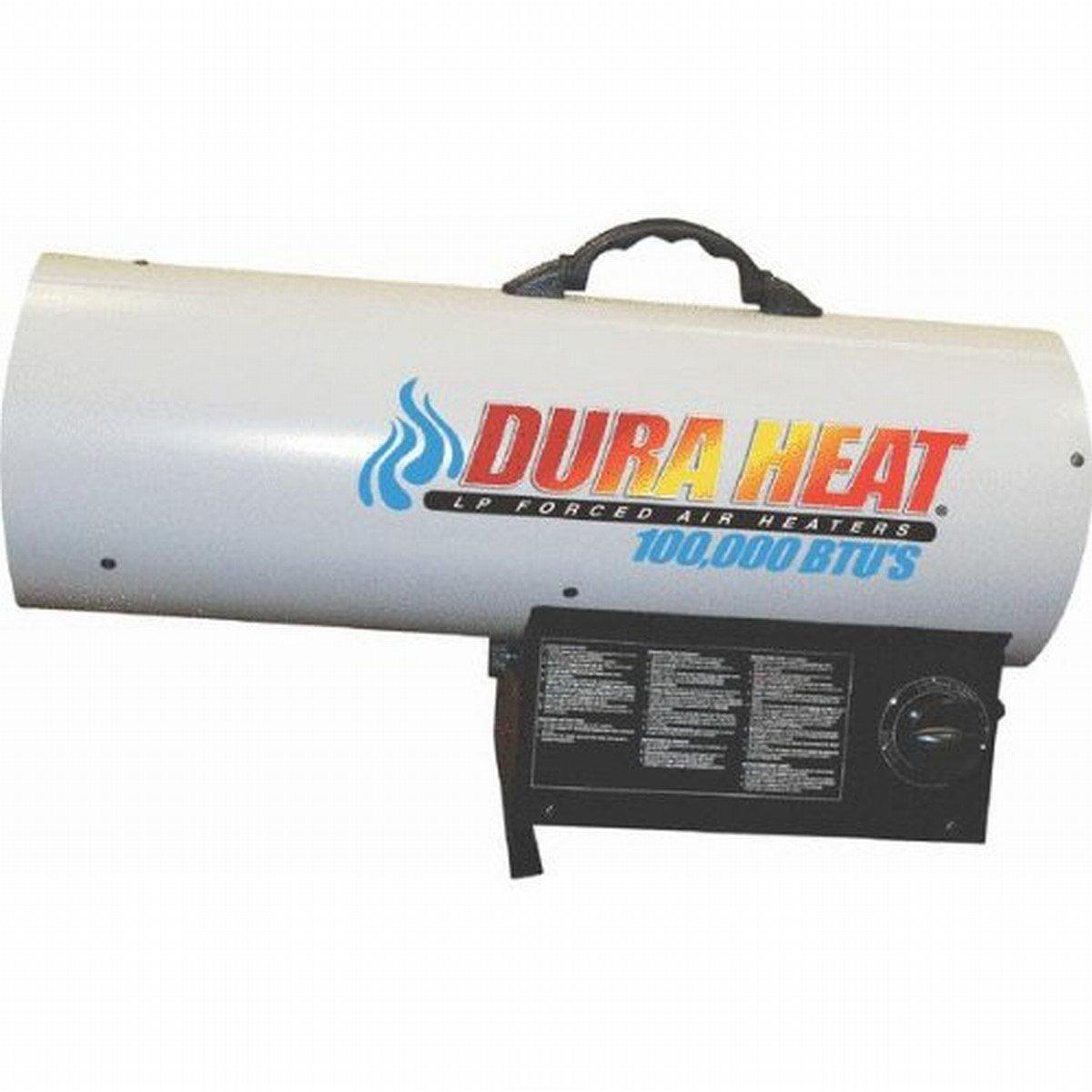 Duraheat 70k-125k Btu Propane[lp] Forced Air Heater - Gas...