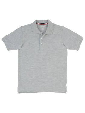 French Toast Toddler Boys 2-4 School Uniform Short Sleeve Pique Polo Shirt