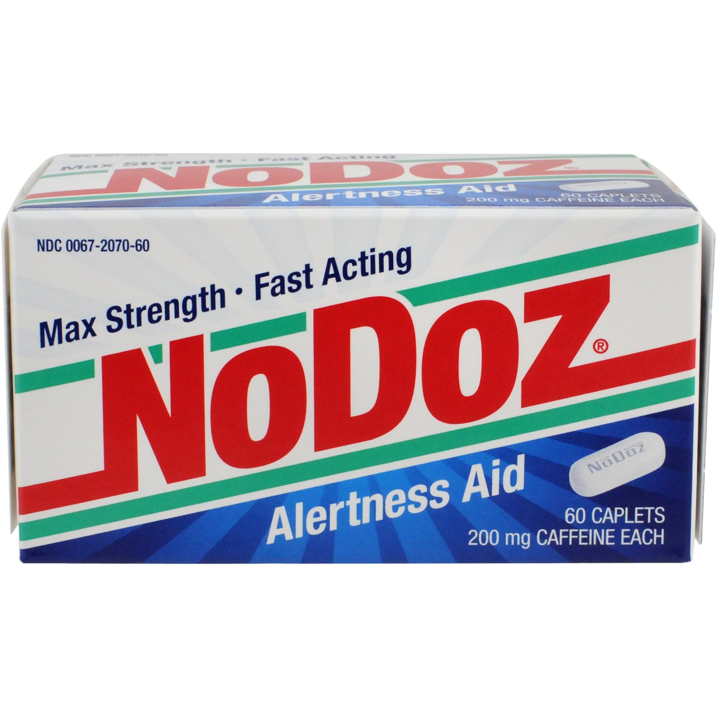 NoDoz Alertness Aid Caplets, 60 Ct