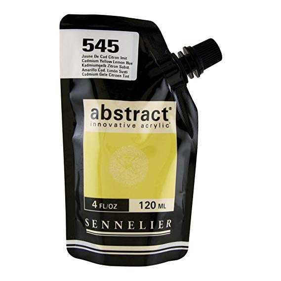 Sennelier - Abstract Acrylic - Satin - Cadmium Yellow Lemon Hue