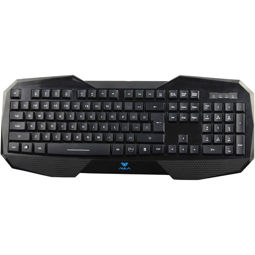 Aula LED Backlight Wired Gaming Keyboard (On Fire SI-859)