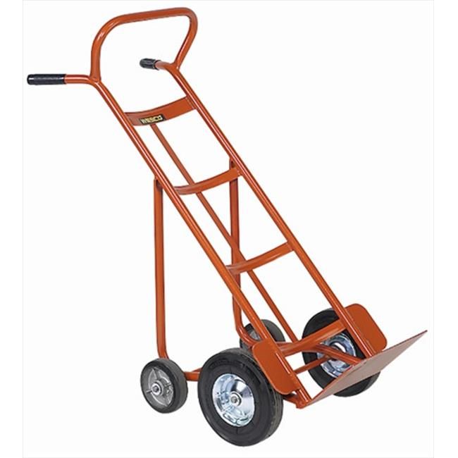 Wesco 210051 Standard 186 Series Hand Trucks - 8 inch  Ballon Cushion Wheel