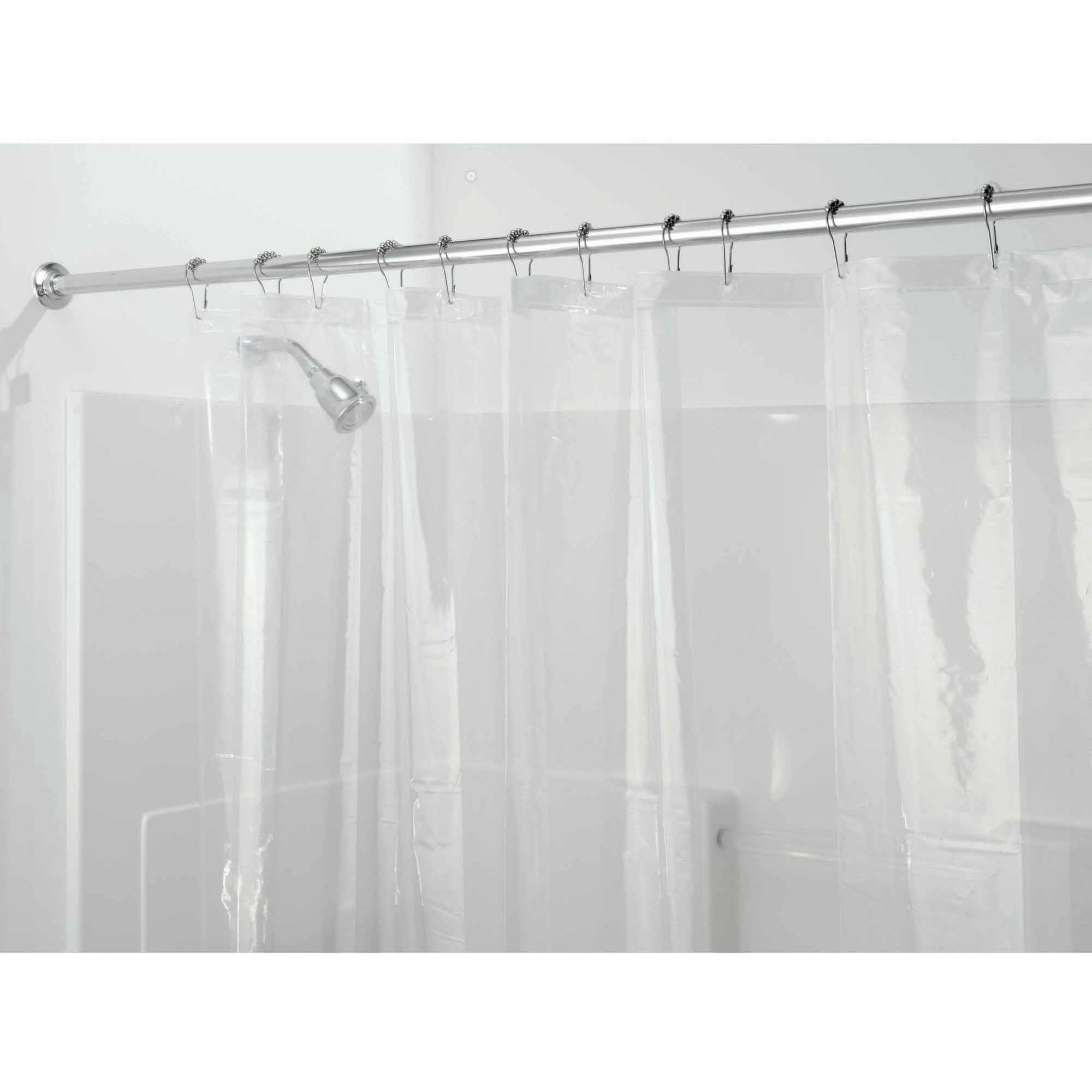 how to clean pink mildew from shower curtain