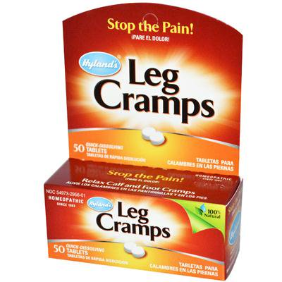 Hyland's Homeopathic Leg Cramps with Quinine (1x50 Tab)