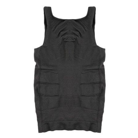 Men Slim Body Shaper Belly Fatty Underwear Vest Shirt Corset Compression Tops - image 5 of 10
