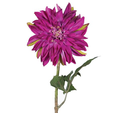 28 in. Dahlia Stem Purple