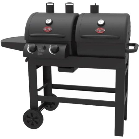 Char-Griller Dual 2 Burner Charcoal/Gas Grill - Walmart.com