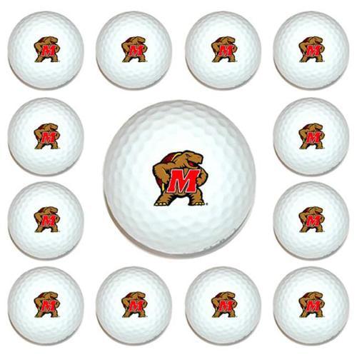 Team Golf 26003 Maryland Terps Dozen Ball Pack