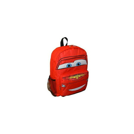 Pixar Book Bag (disney pixar mcqueen 14 big face school bag)