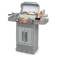 Little Tikes Cook 'n Grow BBQ Grill with Cooking Accessories and Play Food