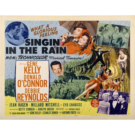 Singin' In The Rain POSTER Movie C (30x40) (1952 Movie Poster)