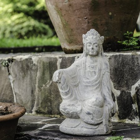 My Spirit Garden Volcanic Ash Imperial Quan Yin Statue