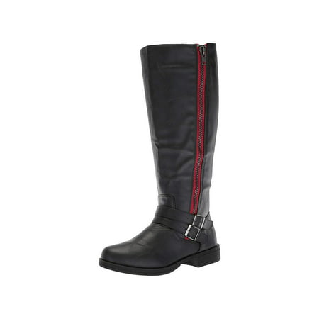 Riding Knee High (Brinley Co Womens Ful Almond Toe Knee High Riding Boots)