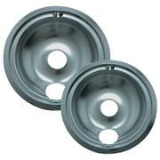 Range Kleen 8 Piece Drip Pan Trim Ring Style D Fits