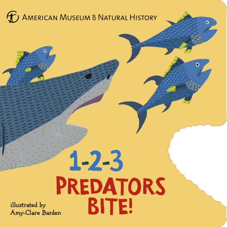 1-2-3 Predators Bite! : An Animal Counting - Animal Counting Book