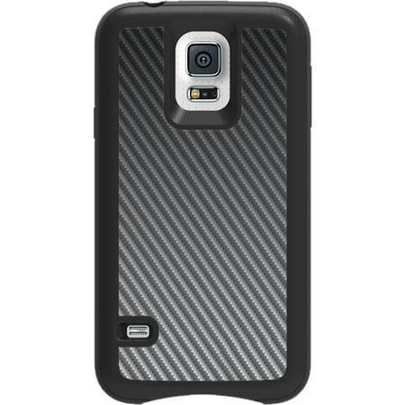 - Impact Gel Xtreme Armour Transformer Phone Case for Samsung Galaxy S5, Black Carbon Fiber