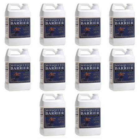 Mosquito Barrier Liquid Mosquito Repellent (1 Gallon / 10-Pack)