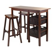 5 Piece Counter Height Table Set And 4