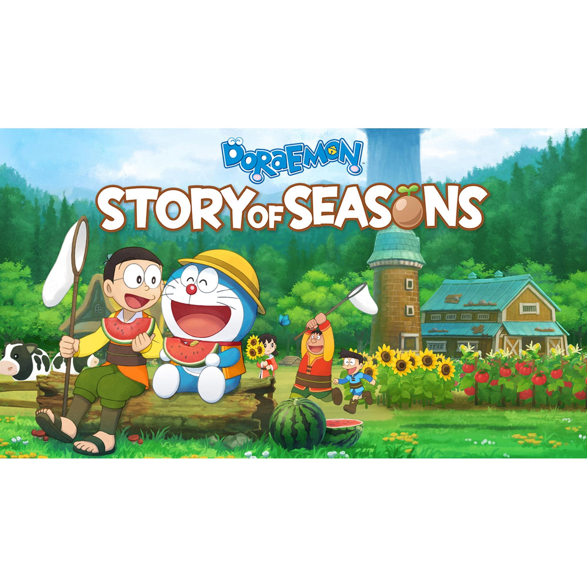 Doraemon Story Of Seasons Bandai Namco Entertainment Nintendo Switch Digital Download 045496665708 Walmart Com Walmart Com