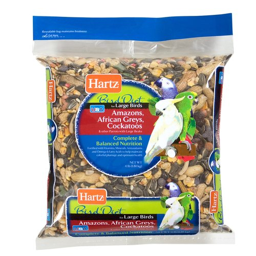 Hartz Large Bird Food, 4 lb
