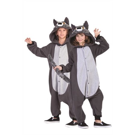 Child's Willie the Wolf Funsie Costume