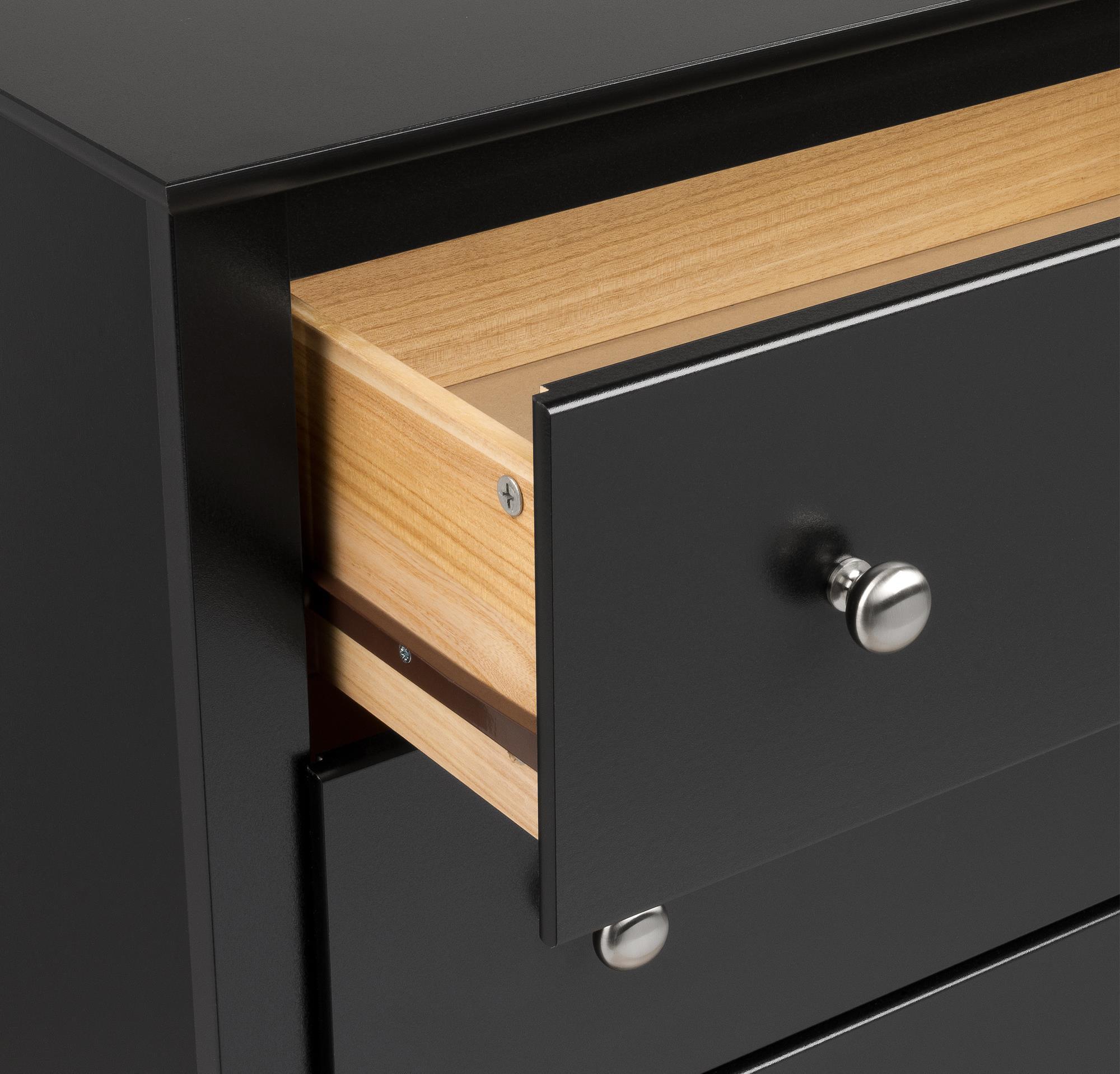 Sonoma Tall 6 Drawer Dresser, Black   Walmart.com