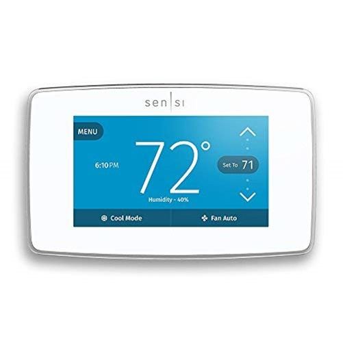 Emerson ST75W Sensi Touch Wi-Fi Thermostat with Touchscreen Color Display