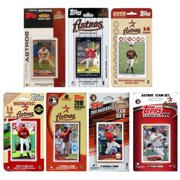 C & I Collectables ASTROS712TS MLB Houston Astros 7 Different Licensed Trading Card Team Sets
