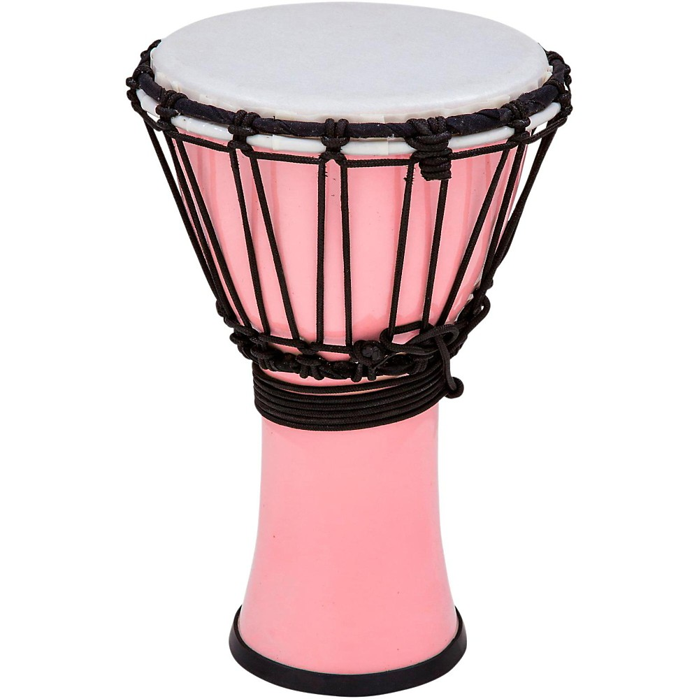 Toca Freestyle ColorSound Djembe Pastel Pink 7 in. by Toca