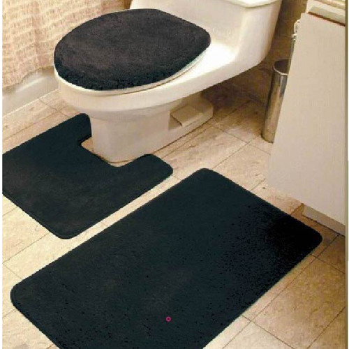 Kashi Home Brandy 3 Piece Bath Rug Set