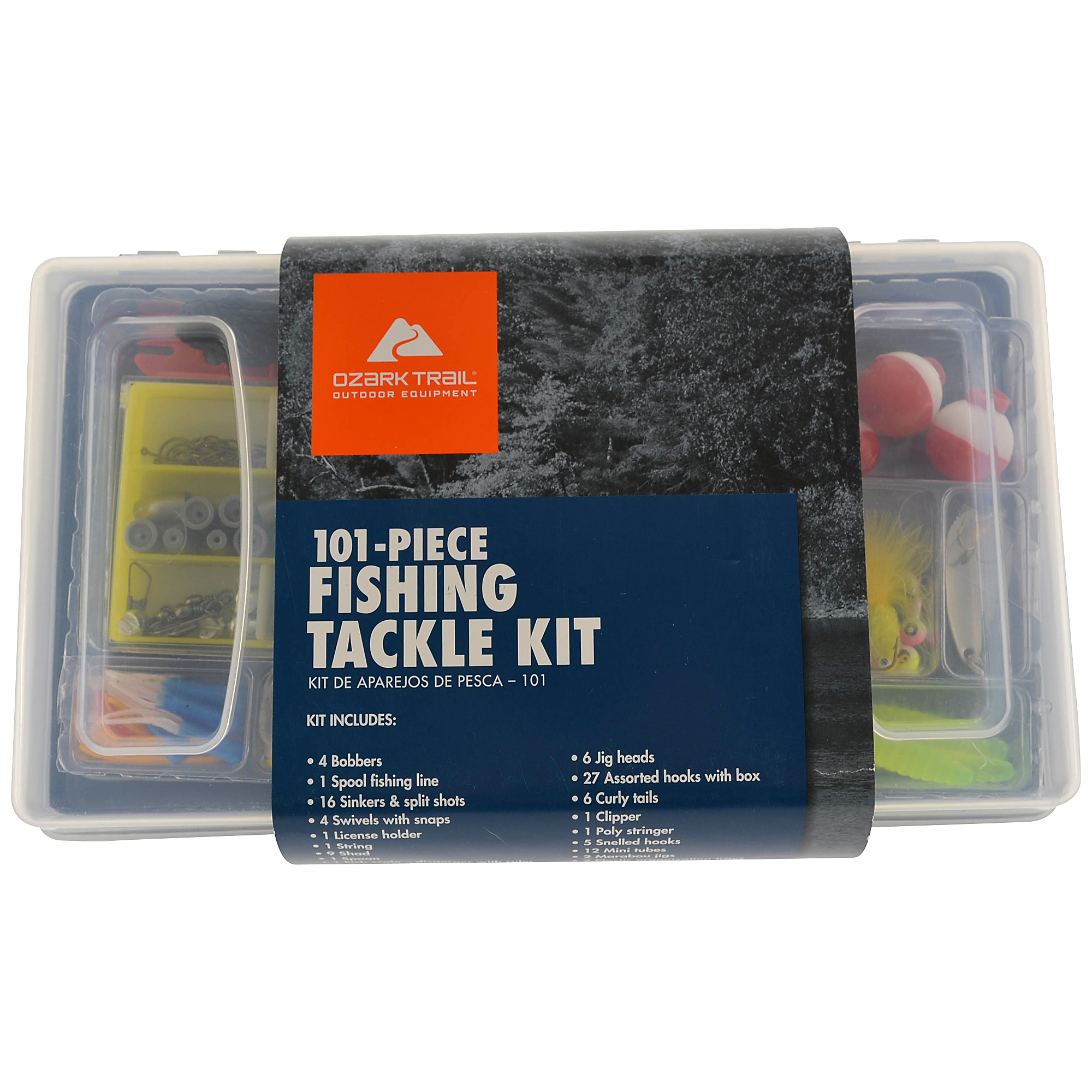 Ozark Trail 101-Piece Fishing Tackle Kit