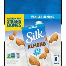 Non-Dairy Milks: Silk Almond