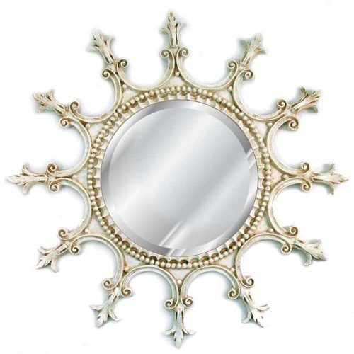 Hickory Manor House Scalloped Mirror - 23W x 23H in.