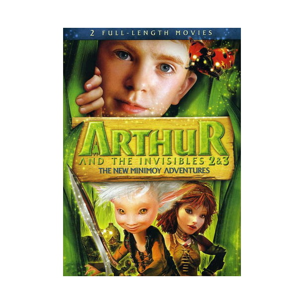 Arthur And The Invisibles 2 3 The New Minimoy Adventures Dvd Walmart Com Walmart Com
