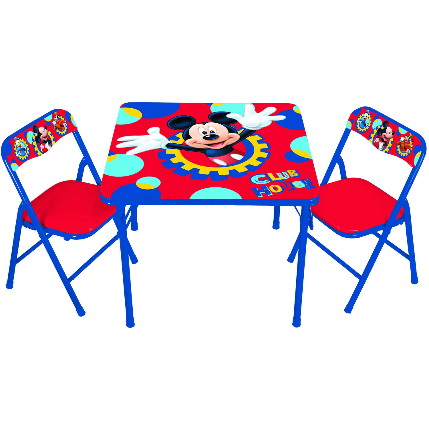 disney mickey mouse playground pals activity table set walmart com