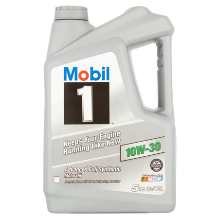 (6 Pack) Mobil 1 10W-30 Advanced Full Synthetic Motor Oil, 5 qts