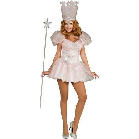 Halloween Glinda the Good Witch Sassy Women's Costume](Deluxe Glinda Costume)