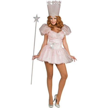 Halloween Glinda the Good Witch Sassy Women's Costume](Glinda The Good Costume)