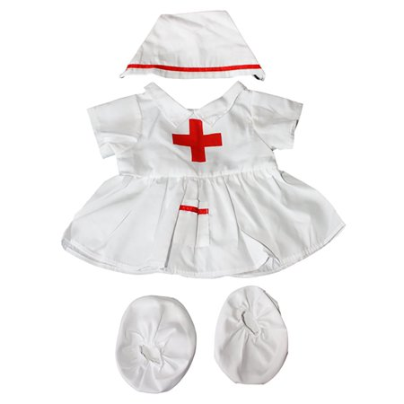 Nurse outfit Teddy Bear Clothes Fits Most 14