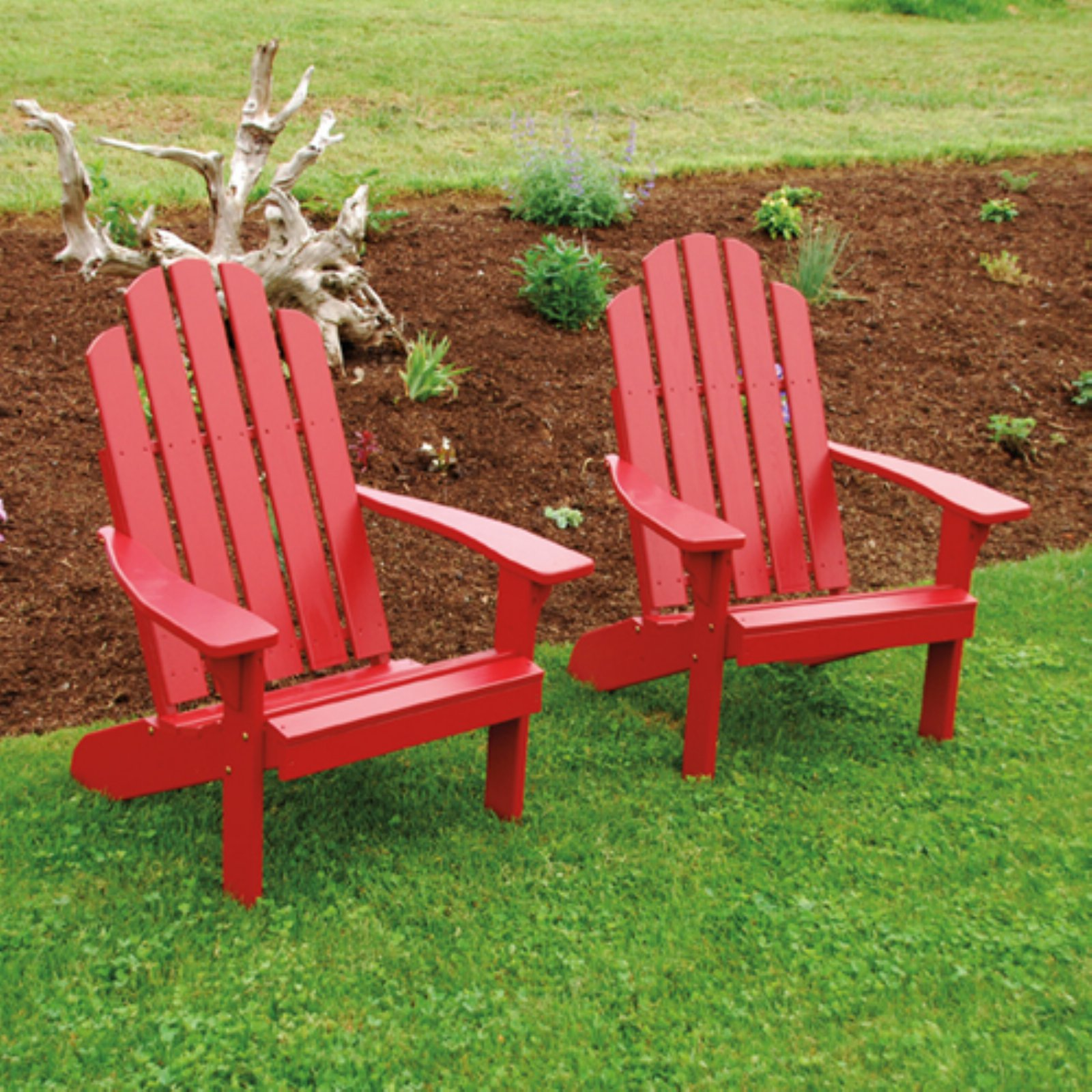 A & L Furniture Yellow Pine Kennebunkport Adirondack Chair