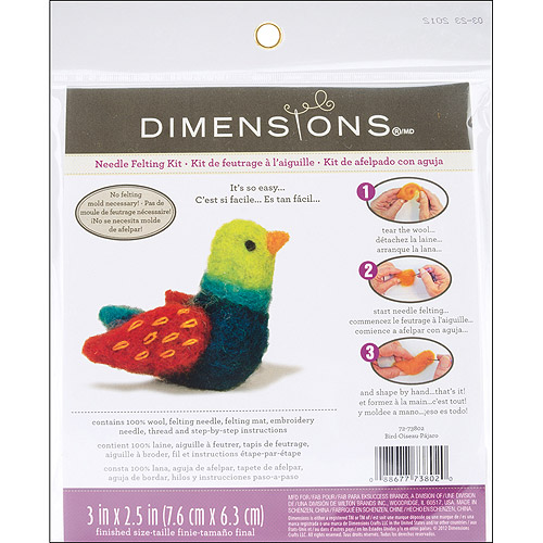 Dimensions Feltworks Little Felted Characters, Bird