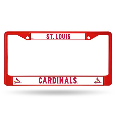 Rico Industries - MLB Color License Plate Frame, St Louis (Blue Laser License Plate)