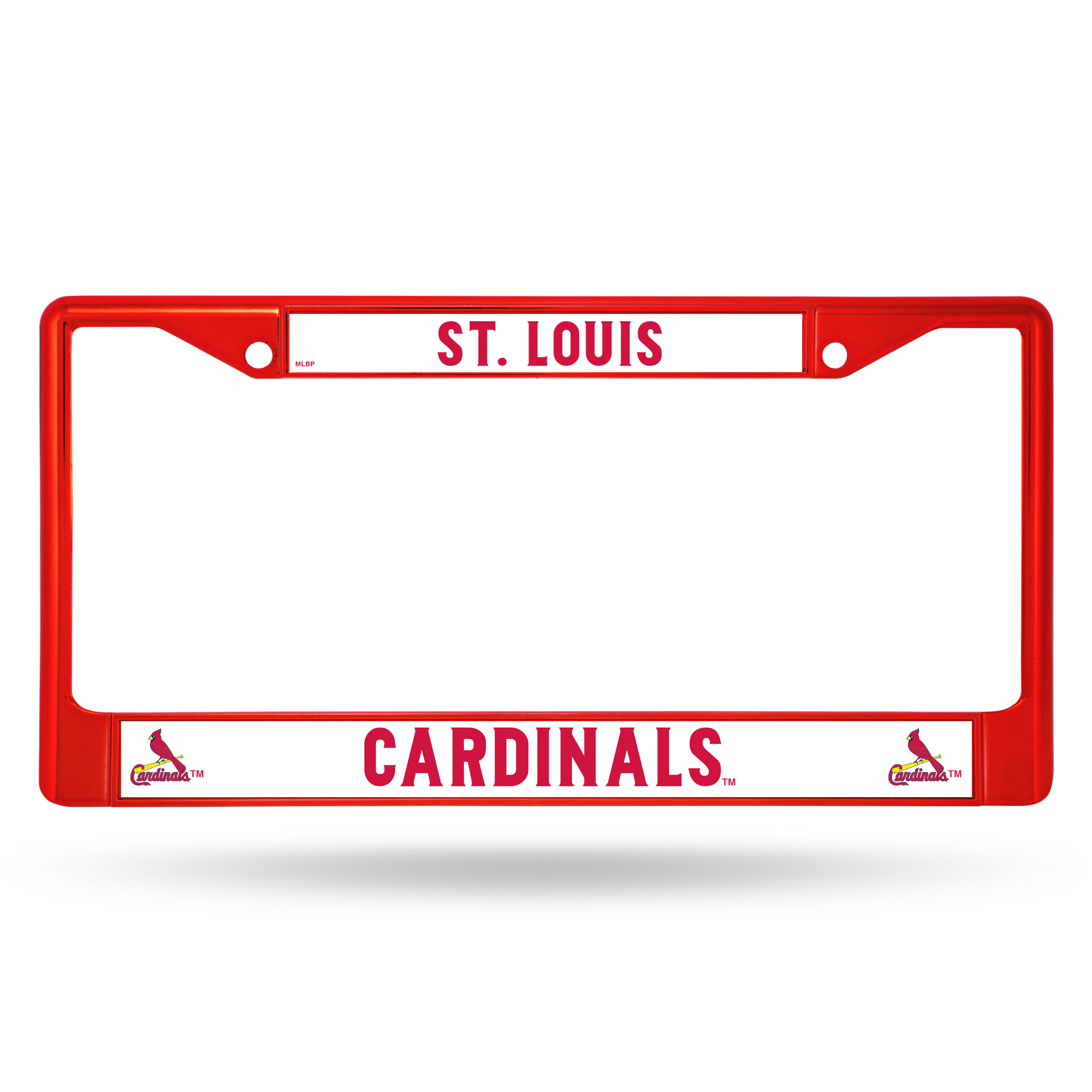 Rico Industries - MLB Color License Plate Frame, St Louis Cardinals