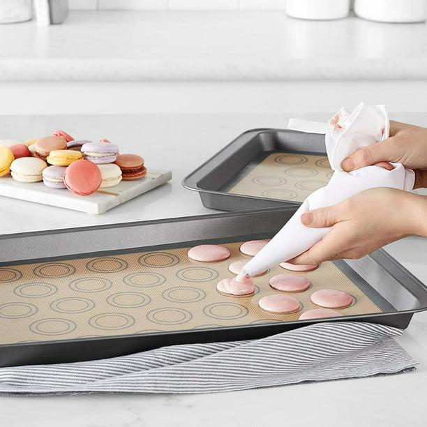 Tayyakoushi Silicone Macaron Baking Mat 2 Pack Walmart Com Walmart Com