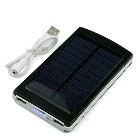 iMeshbean 50000mAh Solar Charger, Solar Power Bank 10000mAh External Backup Battery Pack Dual USB Solar Panel