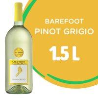 Barefoot Pinot Grigio Wine, White Wine, 1.5L
