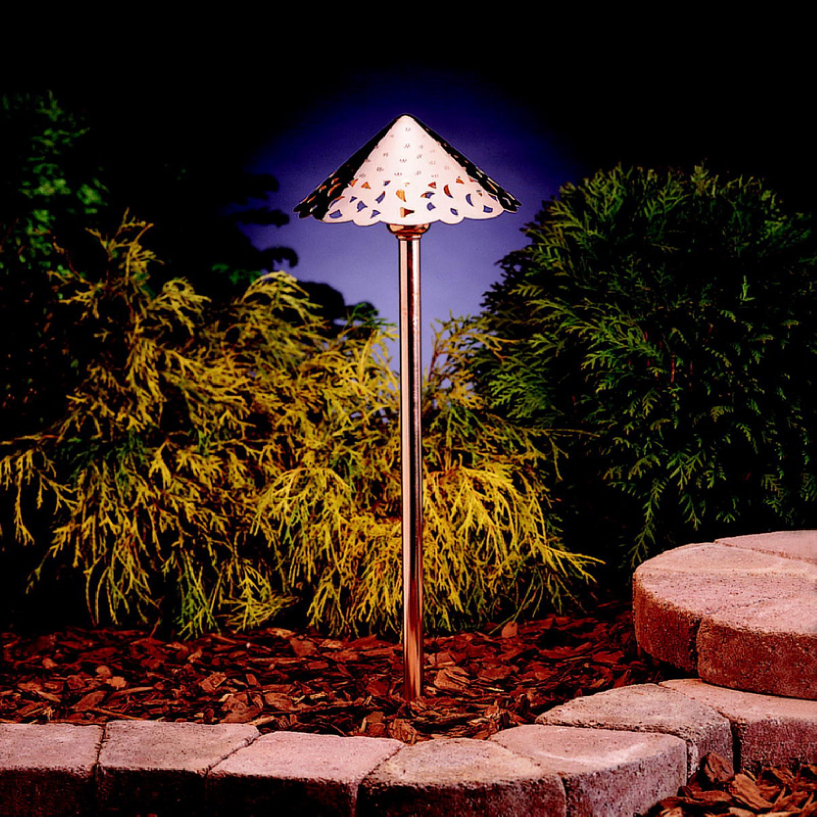 Kichler Landscape LED 15843 Landscape 12V LED Path/Spread - 8 in.