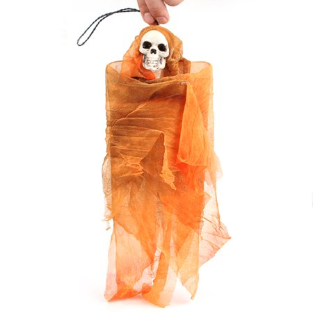 Halloween Hanging Ghost Haunted House Props Prank Horror Hanging Skull Decor Prank Party Decoration](Halloween Yard Pranks)